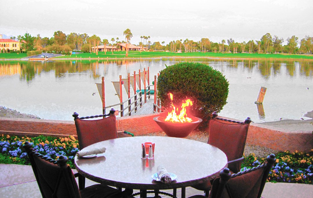 Scottsdale Resort Lake front Dining with Spectacular Sunsets Scottsdale
